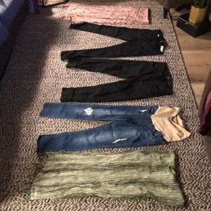 7 for all mankind + denim and scarves funpack #321